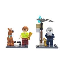 Bole Building Blocks Super Heroes Avengers Scooby Doo Minifigures Scooby Doo Fred Shaggy Bricks Batman font