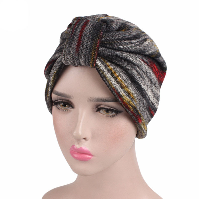 New Knit Hood Cap Lattice Section Knot India Cap Chemotherapy Cap Ruffle Cancer Chemo Hat Turban Head Wrap Cap pastoralism and agriculture pennar basin india