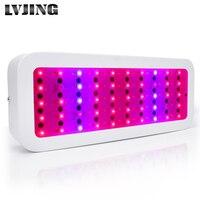 1pcs Mini Full Spectrum LED 300W Led Grow Light With 50LEDs Red Blue UV IR Plant