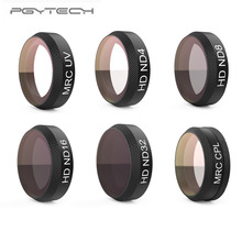 PGYTECH Filter 6Pcs UV+ND4+ND8+ND16+ND32+CPL Filter Kit Lens Filters for DJI Mavic Air RC Quadcopter Drone Accessories