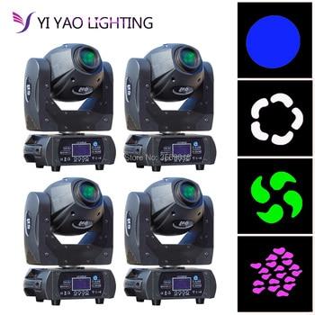 4 teile/los 60 watt Spot Licht Moving Head Licht DMX 10/12CH Gobo LED Licht für Bühne
