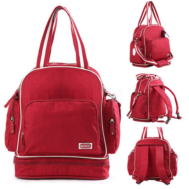 ФОТО Free Shipping Multifunctional Baby Diaper Bags Backpacks Mummy Bags Nappy Backpacks