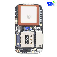 Topin ZX303 GPS Tracker GSM AGPS Wifi LBS Locator PCB Module MT2503+3333+5931 Chip Free Web APP Monitor 100pcs/lot without Cable|GPS Trackers| |  -