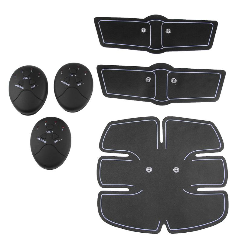 Wireless Muscle Stimulation Tool Body Slimming Beauty Machine Abdominal Muscle Exerciser Training Device Body Massager