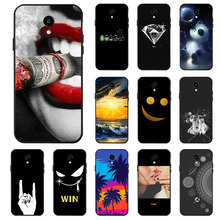 Ojeleye Fashion Black Silicon Case For Meizu Meilan 6 Cases Anti-knock Phone Cover M6 M711Q M711C Covers