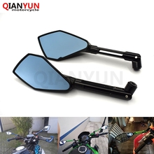 цены For BMW S1000R K1200R K1300R R1200GS F800R F650GS G650GS G310R CNC Mirror Motorcycle Scooter Accessories