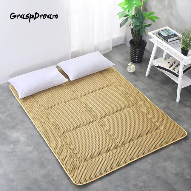 4D breathable mattress bed mat thickening summer ground floor sleeping mat non-slip foldable double 1.8m tatami bed scorpion
