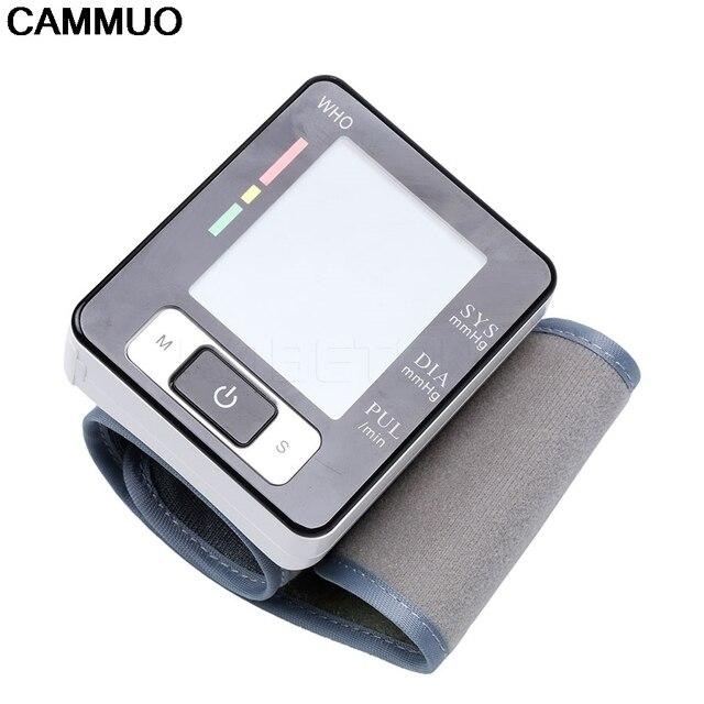 Health Care new tensiometro digital Blood Pressure Monitor Wrist tonometer Automatic Sphygmomanometer BP Blood Pressure Meter 2