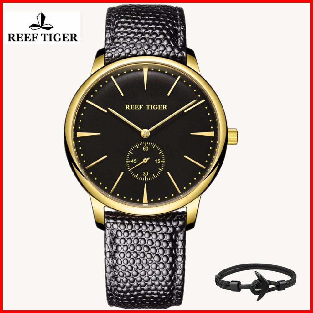 リーフ虎高級ブランド腕時計リロイ mujer スイス時計男性ヴィンテージクォーツ腕時計超スリムデザインレロジオ feminino  グループ上の 腕時計 からの クォーツ時計 の中 1