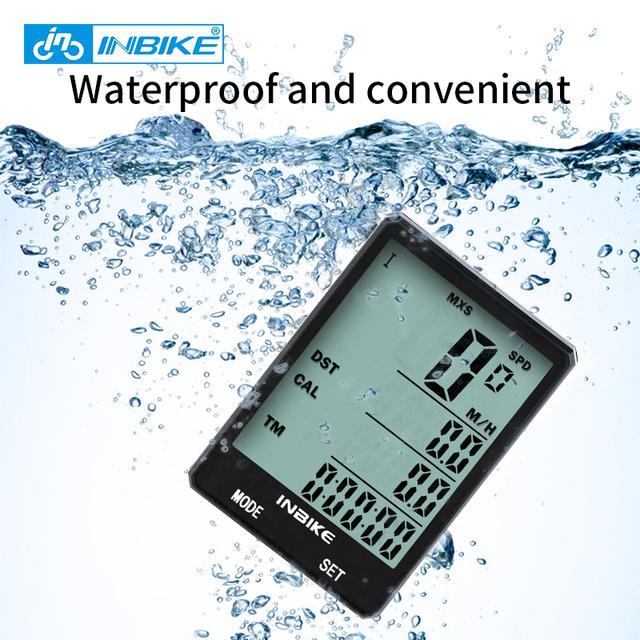 "2.8"" Large Screen Waterproof Bike Computer"