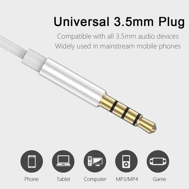 Official P7C Earphone With Mic Volume Control Super Bass Music DJ Gaming Headset For Iphone Xiaomi Samsung Huawei fone de ouvido