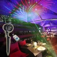 Big Casing Outdoor Waterproof RG Laser Light Christmas Lights Projector Garden Lawn Landscape Decorative Lighting 12