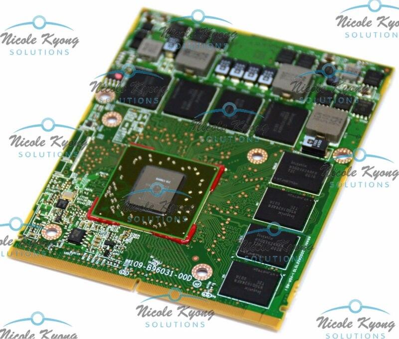 100% work HD5870 HD 5870M 1GB DDR5 DX 11 109 B96031 00D VGA card for HP EliteBook 8740W 8760W 8540w 8560w