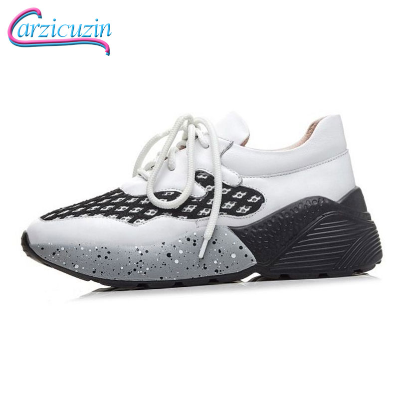 c2ee2fa4b Das Branco Moda Férias Tamanho Calçados Nova Senhora Rua 3539 Couro Real Calçado  Sapatos Diárias De Mulheres ...