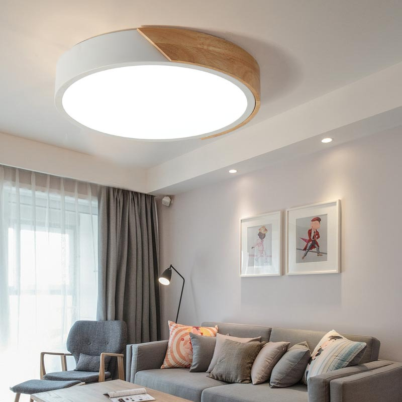 Lights & Lighting New Originality Personality Living Room Lamp Simple Modern Atmosphere Home Nordic Rectangular Warm Bedroom Lamp Led Ceiling Lam