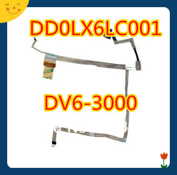 100%  New Original DD0LX6LC001 Laptop LCD Cable for HP Pavilion dV6 screen line cable new original laptop replacement lcd cable for hp pavilion dv6 6000 dv6 6100 dv6 6200 dv6z 6100 b2995050g00013 lcd lvds cable