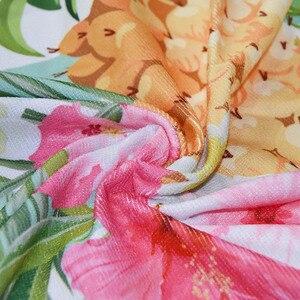 Image 5 - 150cm Picnic Yoga Mat Blanket Carpet 500g Microfiber Microfiber Flamingo Printed Round Tassel Beach Towel