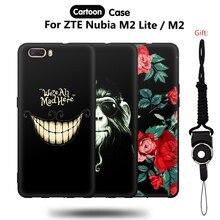 ФОТО jurchen soft cover for zte nubia m2 lite case 5.5