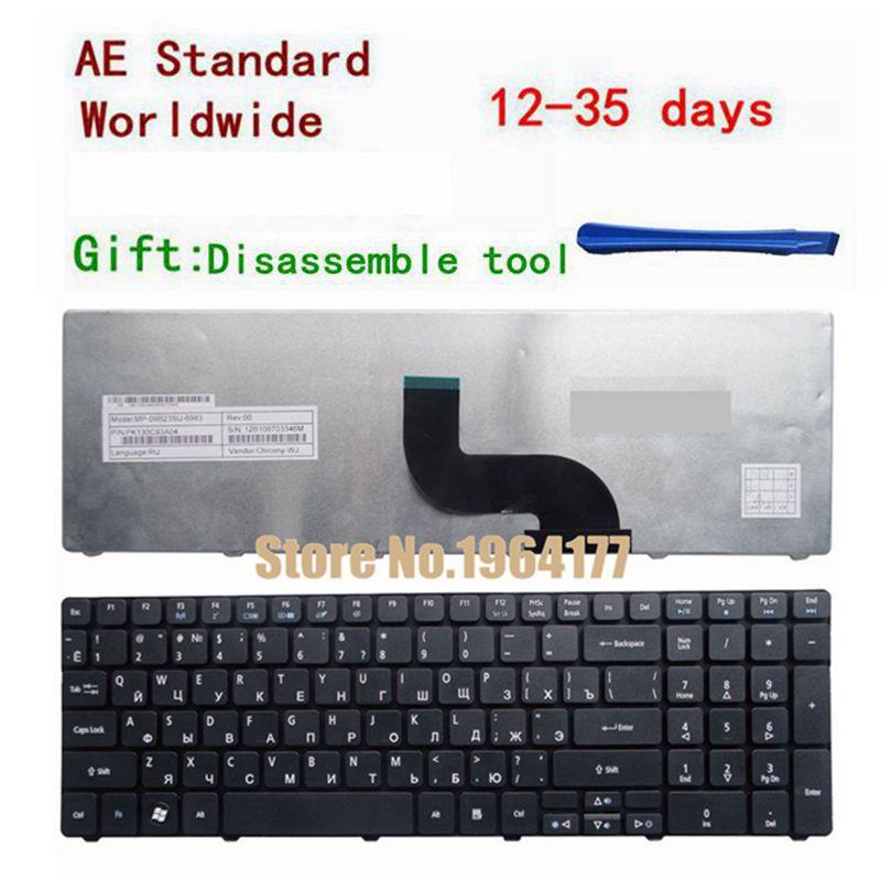 Russian Laptop Keyboard For Acer For TRAVELMATE TM 5742G 5742 5742Z 5742ZG 5335 5542 5542G 5735 5735G 5744 5744Z RU Black New