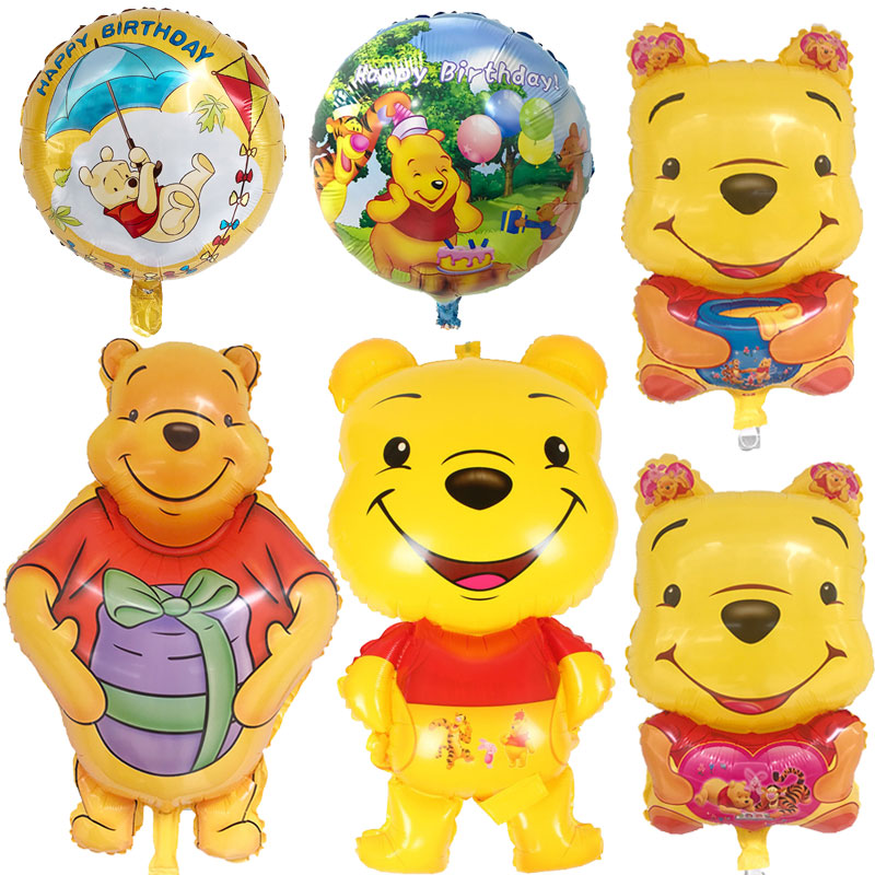 Festive & Party Supplies Honey 18inch Happy Birthday Round Foil Balloons Children Classic Toys Inflatable Helium Balloon Happy Birthday Ballons Party Supplies