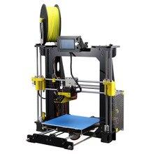 2017 быстрого прототипирования 3D принтер большой Prusa I3 RepRap raiscube DIY Kit 3D инструменты Печати Бесплатная PLA нити 8 г sd карты