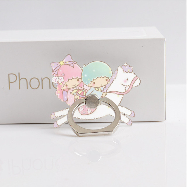 Girls Finger Ring Smartphone Holder 1
