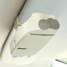 Новый автомобиль очки солнцезащитные очки держатель чехол для Mercedes Benz A180 A200 A260 W203 W210 W211 AMG W204 C E S CLS CLK CLA SLK Classe