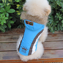 Cute small dog cat pet jacket coat Winter warm dog puppy hoodie snow skiing suit clothing golden retriever big large dog clothes