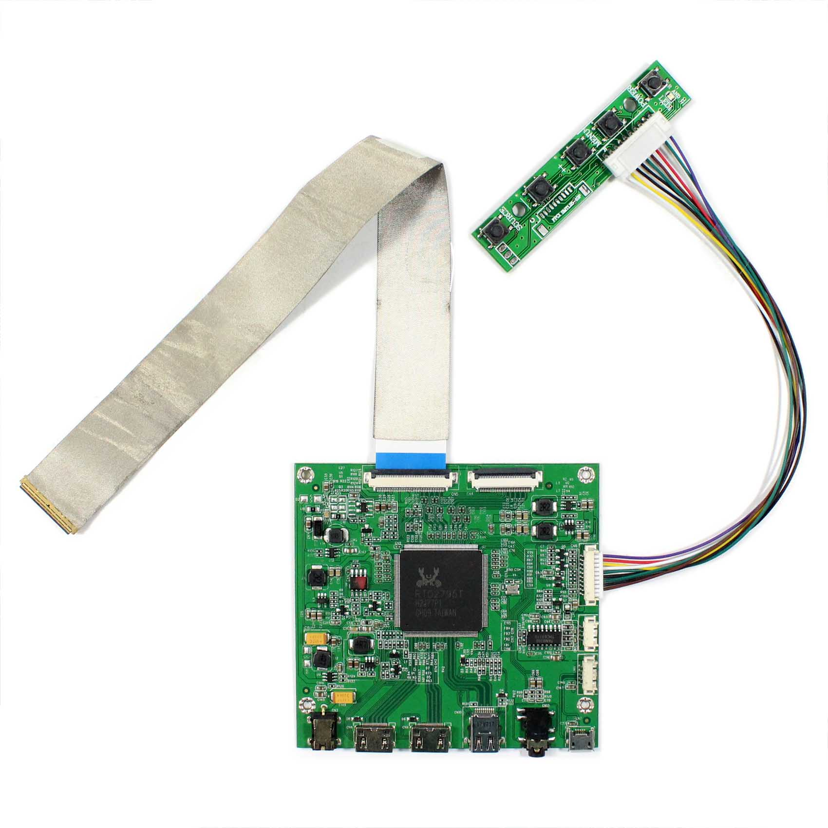 HDMI DP LCD Contoller Board Work For 4K 15 6 3840x2160 NV156QUM LCD Screen