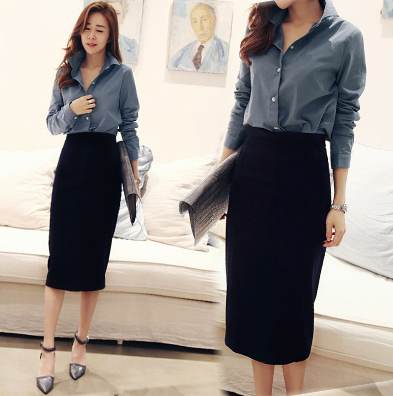 Long work skirts women – Modern skirts blog for you