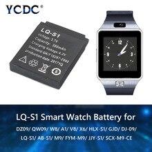 LQ-S1 3.7V Rechargeable Li-ion Polymer Battery For Smart Watch HLX-S1 GJD DJ-09