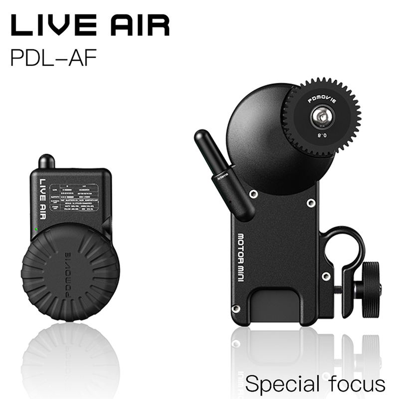 PDMOVIE LIVE AIR Bluetooth Wireless Follow Focus System For DJI ronin s zhiyun crane 2 MOZA aircross Gimbal or SLR Camera Lens digitalfoto pdmovie motorized wired follow focus zoom focus for dslr camera dji ronin m rig 3 axis gimbal film making sony nikon