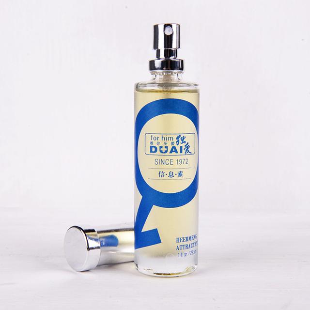 DUAI Pheromones Cologne feromonas men freshener lasting fragrance fresh to the body odor attract women eau de toilette 29.5ml