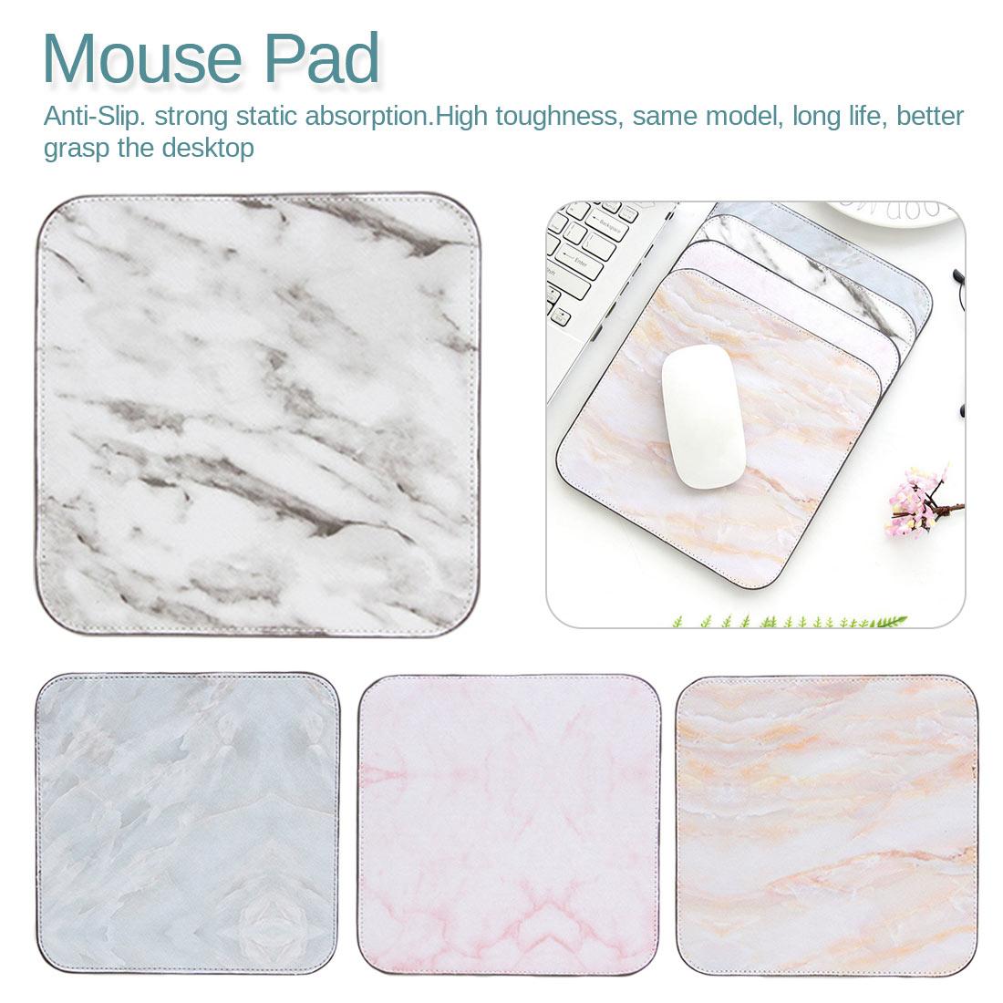 Desk Organizer School Supplies Desk Marble Mouse Mat Set Office Tools Office Desk Accessories
