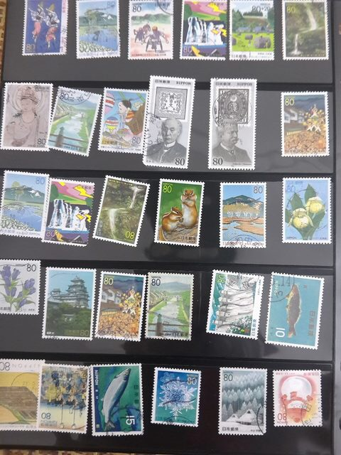 50 PCS/Lot No Repeat Japan Postage Stamps Brand With PostMark Stamp All Used Clloection Gifts