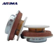 AIYIMA 2 шт. 27 мм аудио портативный вибродинамик s резонансный динамик 2 Вт 4ohm DIY HiFi полный спектр динамик стерео громкий динамик