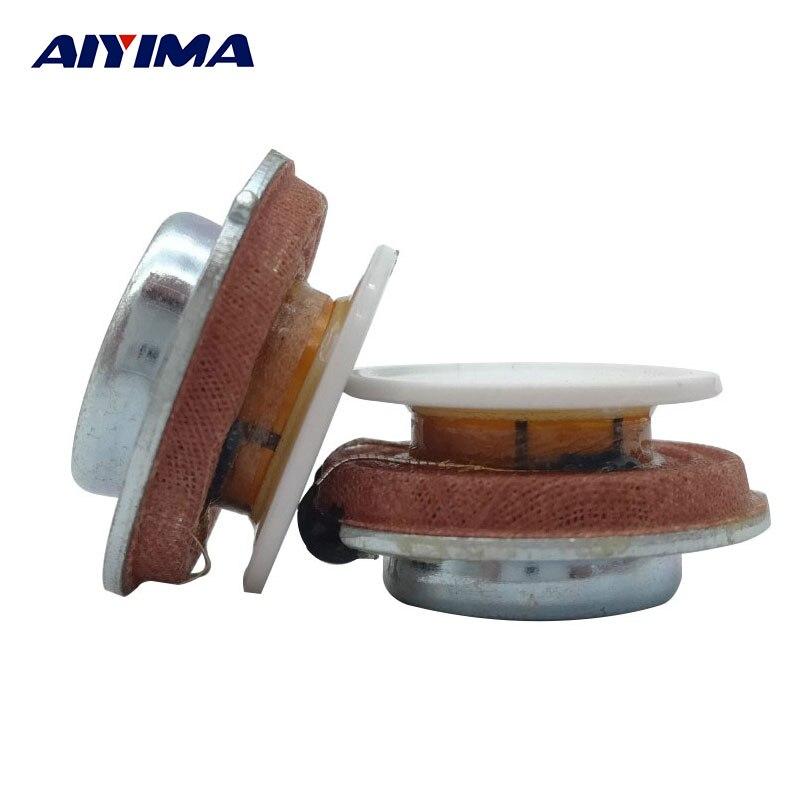 27MM Audio Portable Vibration Speakers Resonance Speaker 2W 4Ohm DIY Hifi Full Range Speaker Stereo Loudspeaker
