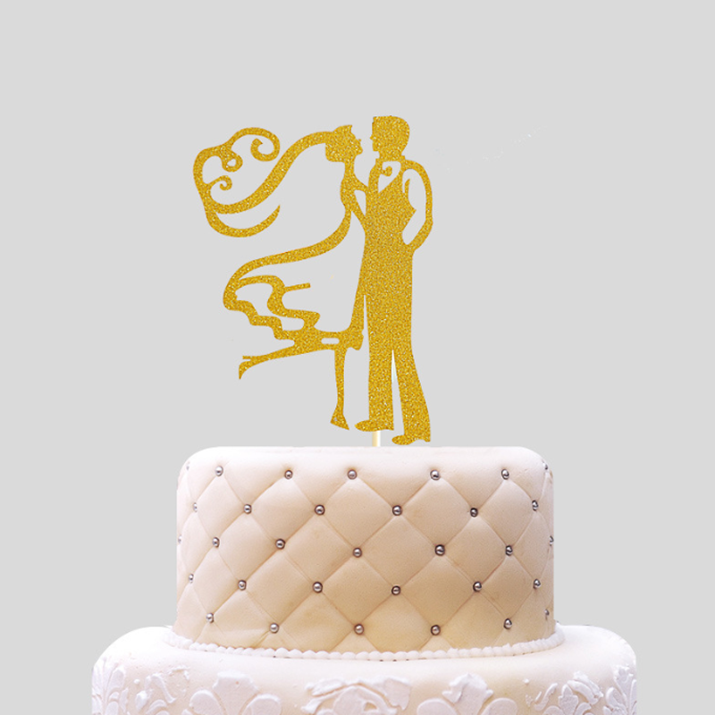Buy wedding dolls cake bride groom and get free shipping on ...