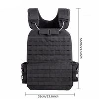Tactical Military Vest Army Airsoft Hunting Molle Vest Paintball Combat Protective Vest Adjustable Lightweight Training vest