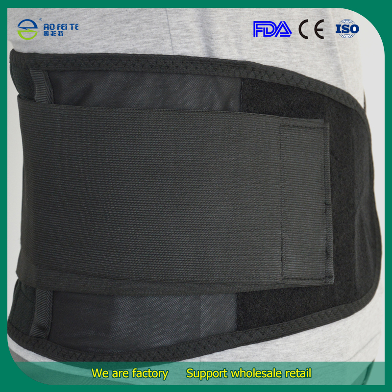 2016 New Magnetic therapy Breathable waist brace relief back pain adjustable elastic waist support belt lumbar protector brace feiwo 8090g alloys plating analog quartz wrist watch for men black golden silver