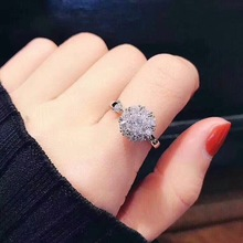 цена на Vintage Rhinestone Round Rotate Ring Set Party Travel Ring Women Night Club Wedding Jewelry Gifts