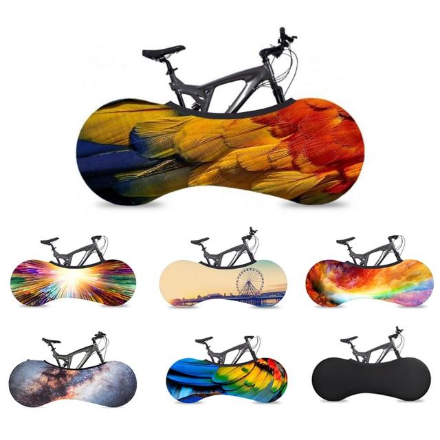 2019 Nova MTB Rodas Da Bicicleta Capa de Poeira À Prova D' Água-prova Saco De Armazenamento De Bicicleta Interior Equipamentos de Proteção Para A Maioria Das Bicicletas de Montanha