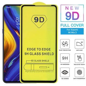DHL 100pcs 9D Full Glue Cover Tempered Glass for Xiaomi Mi 9 Screen Protector full glue glass for xiaomi mi9 SE