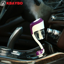 12 В Автомобиль Ароматерапия диффузор увлажнитель воздуха Портативный увлажнитель воздуха Аромат Диффузор тумана, ультразвуковой аромат диффузор