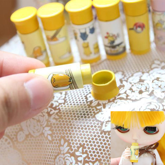 1 Pcs Cute Mini Termo Model Water Cup Doll House Dollhouse Miniature Accessories Girls Pretend Play