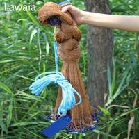 Lawaia Fishing Cast Net Hand Casting Net Fishing Nets Dia2 4 7 2m With Iron Sinkers