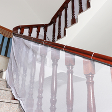 Railing Stairs Safety Protecting Net Children Thickening Fencing Protect Net Balcony Child Fence Baby Fence Safety Net 200*80cm marine bulwark ladder safety net safety net nylon rope springboard balcony stairs safety net rope 4 6m