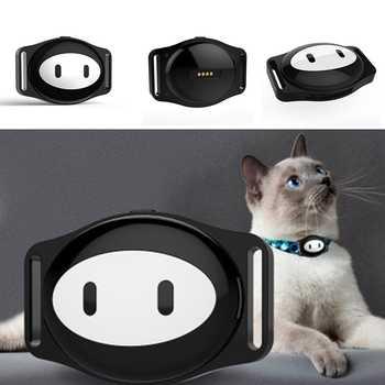 Wasserdichte Mini Pet Gsm Gps Tracker Locator Kragen Für Hund Katze Lange Standby-Geo-zaun Lbs Kostenloser App Plattform tracking Gerät D79