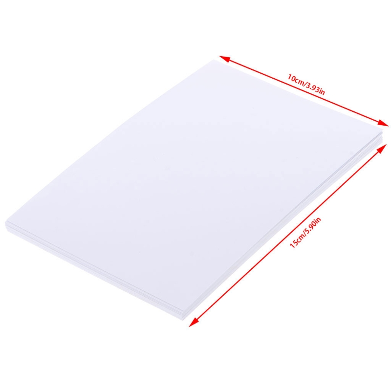 "Купить с кэшбэком 20Sheets 4""x6"" High Quality Glossy 4R Photo Paper 200gsm for Inkjet Printers Photo paper"