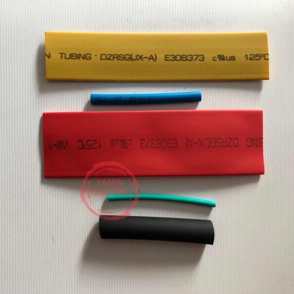 328 ชิ้น/เซ็ต Sleeving Wrap ลวดรถสายชุดท่อความร้อนท่อหด Polyolefin 8 ขนาดผสมสี